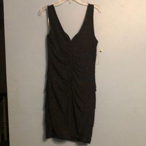 Emerald Sundae Black sparkly dress Size m
